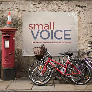 small voice store display small