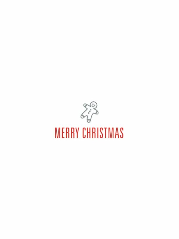 Merry Christmas cookie lettering