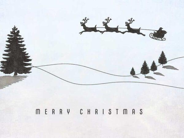 Santa lettering